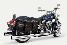 Load image into Gallery viewer, True Duals with 4″ x 30″ Mufflers For Softail