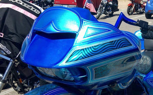 Harley In Your Face Road Glide Headlight Bezel 2015 To 2019