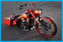 Load image into Gallery viewer, Harley Road King Long Raked Accent Nacelle & Cap 1993 To 2019