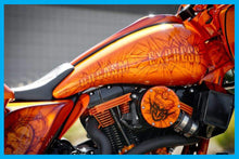 Load image into Gallery viewer, Harley Cutting Edge Gas Tank Kit Street Glide Road Glide 2008 To 2018