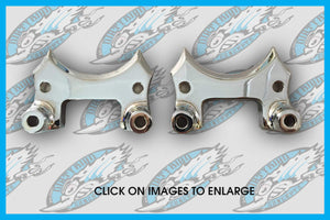 Harley Slotted Front Fender Mounting Blocks 1998 to 2013