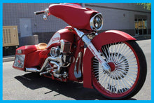 Load image into Gallery viewer, Harley Drop Top Front Fender 26″