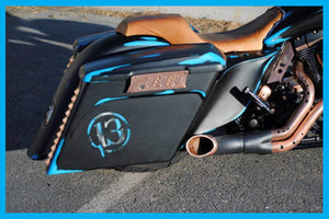 Harley Stretched Bags PPO/PA 4.5″ Up To 2013