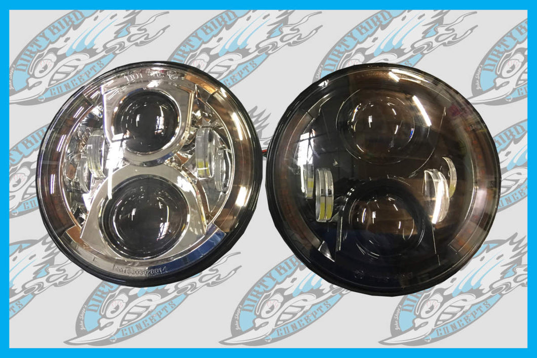 Harley The Money Shot All In One HID Headlight LED Turn Signals up to 2019
