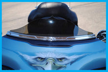 Load image into Gallery viewer, Harley Shorty #2 Transparent Street Glide Windshield 1993 to 2019