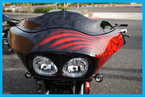 Harley Wicked Road Glide Windshield Up to 2013
