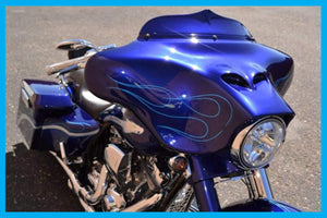 Harley Big Baller 3D Street Glide Windshield 1993 to 2019