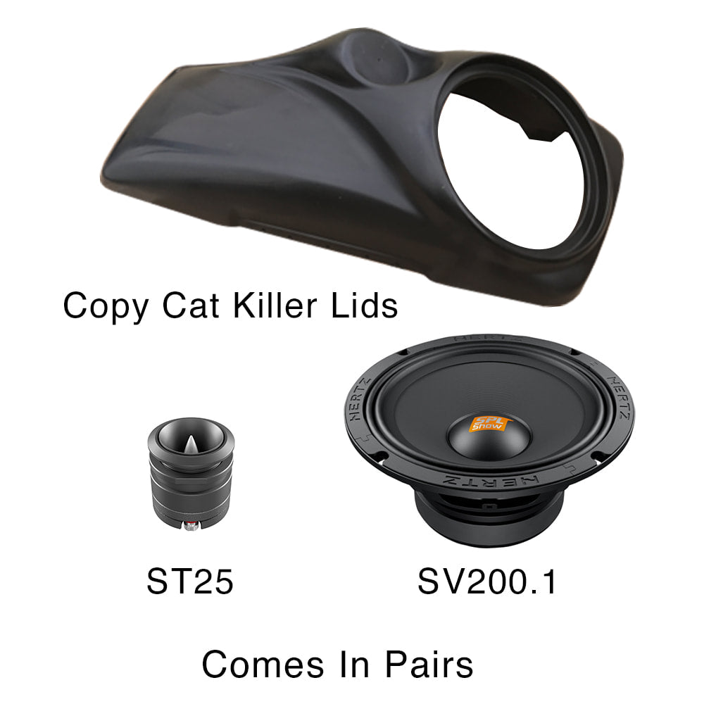 COPY CAT KILLER LID PACKAGE WITH HERTZ AUDIO