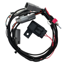 Load image into Gallery viewer, BILLET BALLER ELECTRIC HINGE WIRING HARNESS– SINGLE SWITCH –