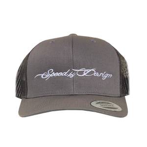 SBD GREY/BLACK MESH HAT
