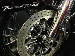 Flush Axle for Harley Touring Models