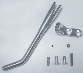 87-101 CUSTOM KICKSTAND FOR SOFTAIL® Bolt-on kickstand with hidden internal spring.