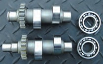 114-67 ANDREWS TW55 CAMS FOR CHAIN DRIVE TWIN CAM 88™ ENGINES 1999-2006 TWIN CAMS®, EXCEPT 2006 DYNA®