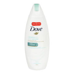 Dove Sensitive Skin Unscented Body Wash 354Ml  - Urbery