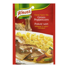 Knorr  Green Peppercorn Classic Sauce Mix 42g  - Urbery