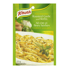 Knorr  Roasted Garlic & Herbs Pasta Seasoning 22g  - Urbery