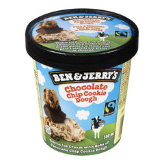 Ben & Jerry's Chocolate Chip Cookie Dough Ice Cream 500ml  - Urbery