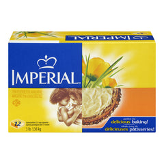 Imperial Baking Margarine 12X1/2 Cup Squares -3Lb  - Urbery
