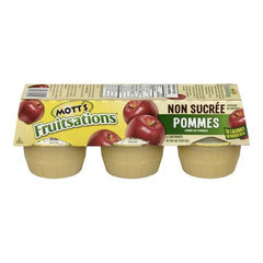 Mott's Fruitations Applesauce Unsweetened (6pk)