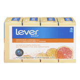 Lever 2000 Grapefruit & Citrus Orange Bars 4X89G