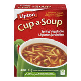 Knorr Lipton Cup-a-Soup Spring Vegetable Instant Soup Mix 4 Packs-63g