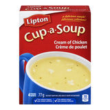 Knorr Lipton Cup-a-Soup Cream of Chicken Instant Soup Mix 4 Packs-77g