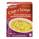 Knorr Lipton Cup-a-Soup Chicken Noodle Supreme Instant Soup Mix 4 Packs-61g
