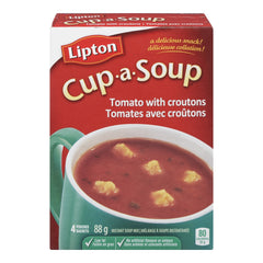 Knorr Lipton Cup-a-Soup Tomato with Croutons Cup-A-Soup 88g  - Urbery