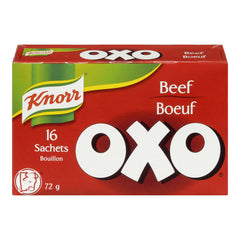Knorr Oxo Beef  16 Sachets 72g  - Urbery