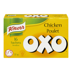 Knorr Oxo Chicken  16 Sachets 72g  - Urbery