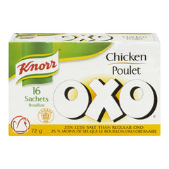 Knorr Oxo Low Salt Chicken  16 Sachets 72g  - Urbery