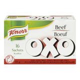 Knorr Oxo Low Salt Beef  16 Sachets 72g