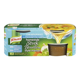 Knorr  Reduced Sodium Chicken Homestyle Stock 132g