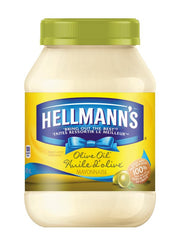 Hellmanns Olive Oil Mayonnaise 890Ml  - Urbery
