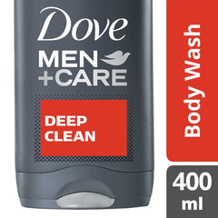Dove Men +Care Deep Clean Micro Moisture Body + Facewash 400Ml  - Urbery