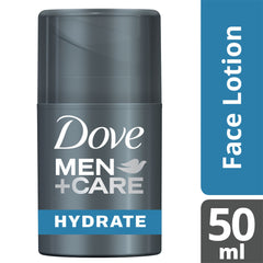 Dove Men +Care Hydrate+ Face Lotion 50Ml  - Urbery