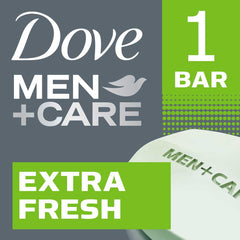 Dove Men +Care Extra Fresh Invigorating Formula Body & Face Bar 90G  - Urbery