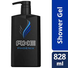 Axe Phoenix Shower Gel Pump 828Ml  - Urbery