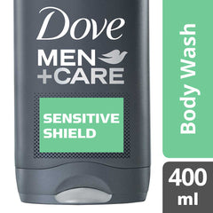 Dove Men +Care Sensitive Shield Body Wash 400Ml  - Urbery