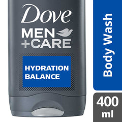 Dove Men +Care Hydration Balance Body Wash 400Ml  - Urbery