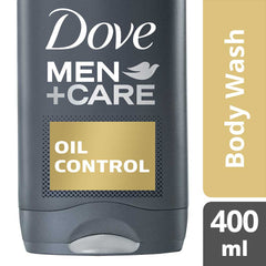 Dove Men +Care Oil Control Body Wash 400Ml  - Urbery