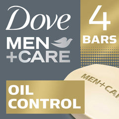 Dove Men +Care Oil Control Body & Face Bar 4X90G  - Urbery