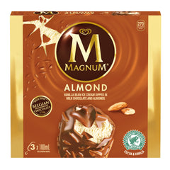 Magnum Almond Ice Cream Bars 3X100Ml  - Urbery