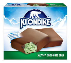 Klondike Mint Chips Candy Bars 4X125Ml  - Urbery