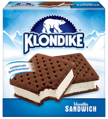 Klondike Vanilla Ice Cream Sandwich 4X135Ml  - Urbery
