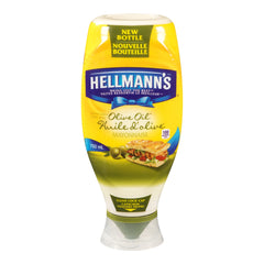 Hellmanns Olive Oil Mayonnaise 750Ml  - Urbery