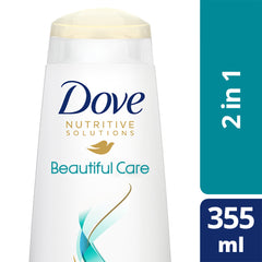 Dove Damage Solutions Beautiful Care Shampoo + Conditioner 355Ml  - Urbery