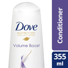 Dove Damage Therapy Volume Boost Conditioner 355Ml  - Urbery