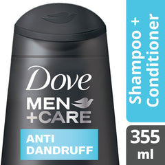 Dove Men +Care Anti Dandruff Shampoo 355Ml  - Urbery