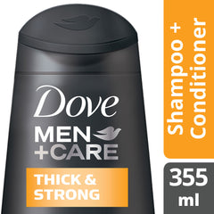 Dove Men +Care Thickening Shampoo 355Ml  - Urbery